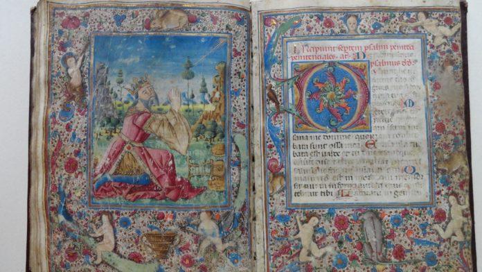 Breviarium Romanum, kodeks pergaminowy