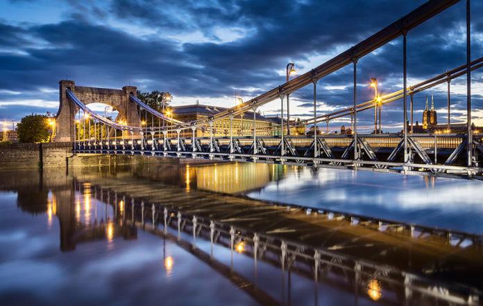 Fotografia Mostu Grunwaldzkiego